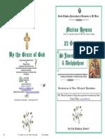 2013 - 23 Oct - St James the Just Adelphotheos
