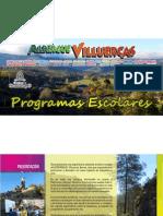 Programas Escolares  Albergue 2013-2014. Programas en Inglés