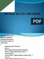 Lab Class 4 - Runge-kutta Method