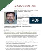 Manifiesto Fibromialgia, EM-SFC, SQM, y EHS