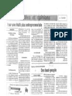 Pour Une Haiti Plus Entrepreneuriale Par Ives Isidor Journal Le Nouvelliste