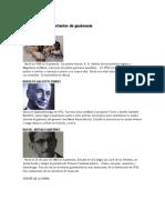 25 Personajes Importantes de Guatemala