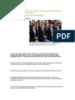 08-10-2013 Puebla Noticias - Presentan RMV y Coparmex El Libro '150 Marcas y Productos Que Puebla Hace y Hacen a Puebla'