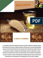 Produção de Oleo Vegetal