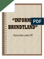 2.Informe Brundtland 1987