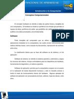 Conceptos Computacionales y Caracteristicas