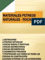 Materiales Petreos y Aglomerantes