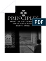 Principles from the Underground House Churches in North Korea