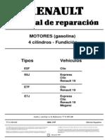Manual de motor Renault 1.4 (Clio, R19 etc).pdf