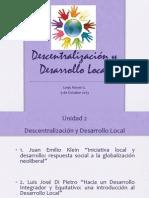 Ayudantia 1 Descentralización