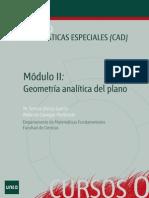 geometria analitica del plano