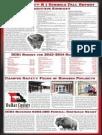 Dallas County R-I Schools Fall 2013 School Newsletter