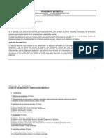 MATEMATICA 2 do Orientación Científica Ref 2006