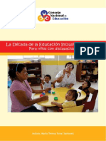 Decada de La Educacion Inclusiva