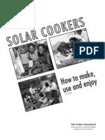 Solar Cooker Plans