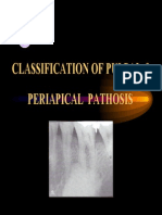 Classification of Pulpal & Periapical Pathosis
