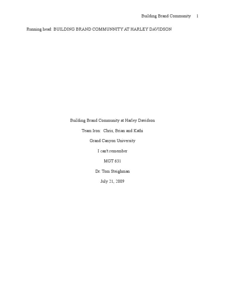 Building brand community on the harley davidson essay full 2 filmbay academics iv 41 html handful of dates essay