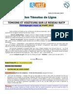 Rapport Temo Insde Ligne Mars 2013
