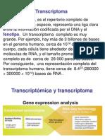 Proteoma y Transcriptoma 2014-1