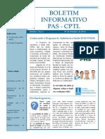 Boletim PAS UFMS _edição I_Outubro_2013