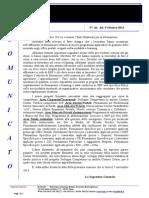 Comunicato N 66 Ente Bilaterale Formazione Del 9 Ottobre 2013