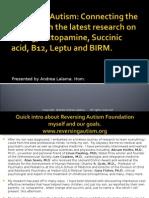 Reversing Autism