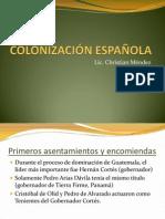 COLONIZACIÓN ESPAÑOLA clase mariano