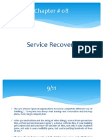service recovery process in case of service failure