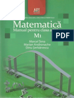 Manual Matematica clasa a 12-a M1