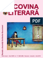 Revista Bucovina Literara Nr 1-7 26-09-2013