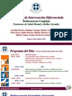 Intervencion Con Adolescentes Con Problemas de Salud Mental