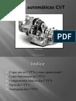 Caixas automáticas CVT