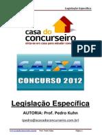 legislacao especifica CEF