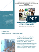 La Multidimensionalidad de La Educacion Final