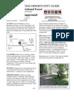 Big Creek CG Info 2009