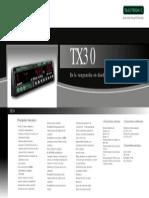 CARACTERISTICAS TX30