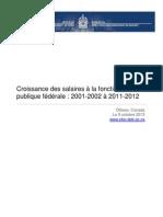 Croissance Salaires Fonction Publique