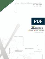 Xtremax Company Profile 2009