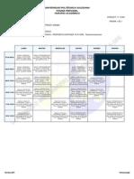 Horario Clases PDF