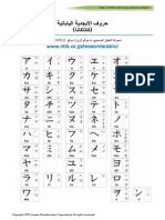 Katakana Arabic