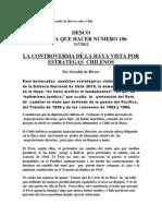 Artículo Embajador Oswaldo de Rivero sobre Chile