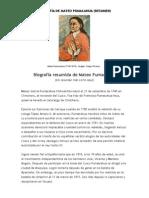 BIOGRAFÍA DE MATEO PUMACAHUA
