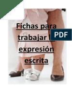 Fichas para trabajar la expresión escrita