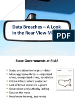 Data Breaches Rear View Mirror - Doug Robinson
