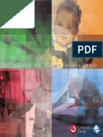 Memoria de Sostenibilidad Renfe 2003