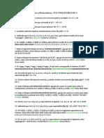 Numericos o Matematicos. TEST PSICOTÉCNICO Nº 4