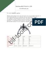 YL Hydraulic Puller Series