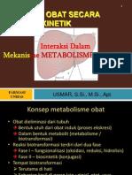 Interaksi METABOLISME