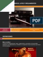 Marco Lejislativo Leyes y Reglamentos