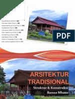 ARSITEKTUR TRADISIONAL - BanuaMbaso Rumah Adat Tradisional Suku Kaili